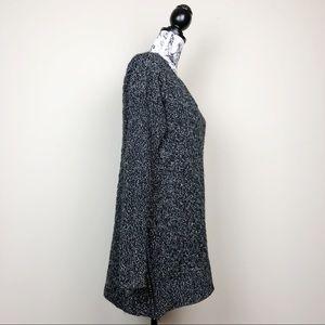 Athleta Sweaters - Athleta Asymmetrical Northern Lights Gray Sweater